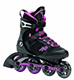 K2 Skate Alexis X Pro Inline Skates, Black/Purple, 8.5