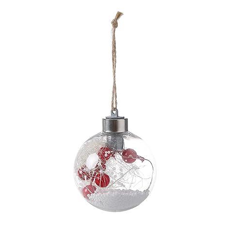 967a49ec048 BulzEU Colgante de Luces LED para árbol de Navidad