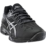 ASICS Men's Gel-Solution Speed 3 L.E. Black/Dark Grey/Phantom 11.5 D US D (M)