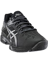 Asics Gel Solution Speed 3 L.E. Mens Tennis Shoes Black/Grey