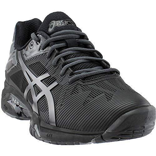 ASICS Gel Solution Speed 3 L.E. Mens Tennis Shoes Black/Grey