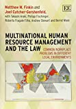 img - for Multinational Human Resource Management and the Law: Common Workplace Problems in Different Legal Environments book / textbook / text book