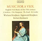 Simpson, C.: Divisions On A Ground / Locke, M.: Duos Nos. 3 and 4 / Ford, T.: Musicke of Sundrie Kindes / Jenkins, J.: Fantasia for Violin and Viola