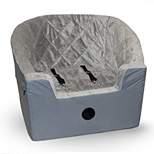 "K&H Pet Products Bucket Booster Pet Seat Large Gray 14.5"" x 24"""