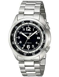 Hamilton Men's H76455133 Khaki Aviation Stainless Steel Watch