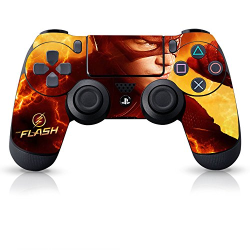 Controller Gear The Flash Electric Yellow - PS4 Controller Skin - Officially Licensed by PlayStation