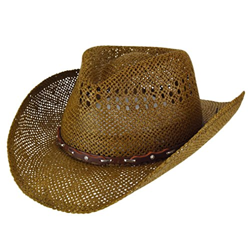 Eddy Bros. Men Mingo Western Hat Brown L