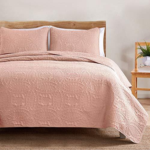 quilt full pink - 1