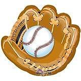"""Anagram International Baseball and Glove Shape Pack, 18"""", NA"""