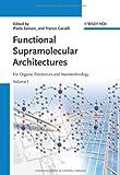 Functional Supramolecular Architectures, , 3527326111