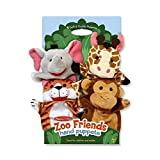 Melissa & Doug Zoo Friends Hand Puppets by Natorytian