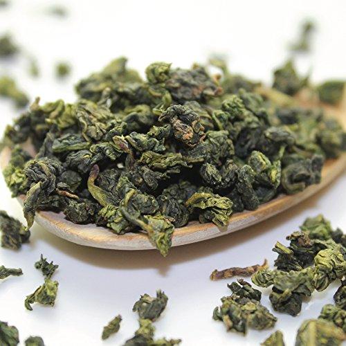 Goddess Tie (Tealyra - Tie Guan Yin - Oolong Loose Leaf Tea - Iron Goddess of Mercy - Organically Grown - Healing Properties - Best Chinese Oolong - Fresh Award Winning - Caffeine Medium - (8oz / 220g))