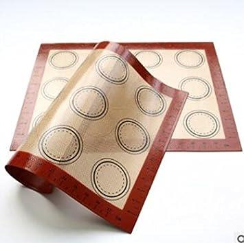 Silicona antiadherente alfombrilla de horneado de silicona para horno Shee maletero, Premium alfombrilla de horneado