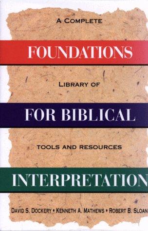 holman guide to interpreting the bible dockery david s guthrie george