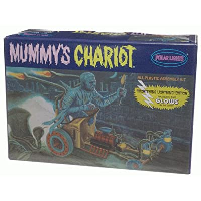 Glow in the Dark Mummys Chariot by Polar Lights: Toys & Games