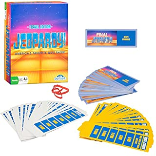 Jeopardy board game do it yourselfore jeopardy the card game travel quiz game with 108 answers and questions ages 12 solutioingenieria Images