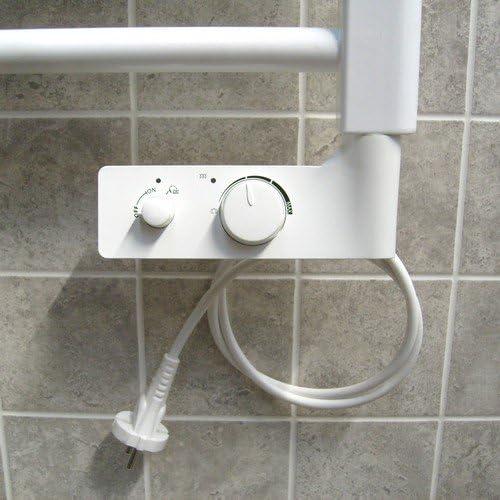 Termoarredo Lazzarini Cortina Evo termostato elettrico digitale bianco 920 x 480