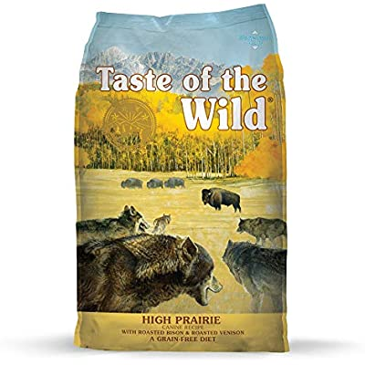 Taste of the Wild High Prairie Grain-Free Roasted Bison & Venison Dry Dog Food, 5 lbs.