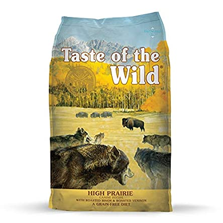 Taste of the Wild Dry Dog Food With Roasted Bison And...