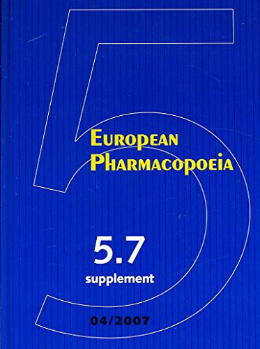 European Pharmacopeia 5.7 Supplement (European Treaty)