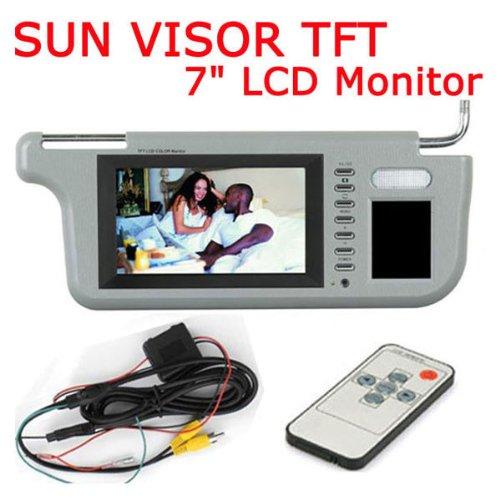 monitor for sun visor - 8