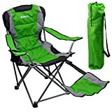 Outdoor Quad Camping Chair - Lightweight, Portable Folding Design -...