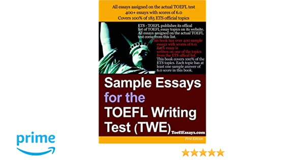 toefl essay sample