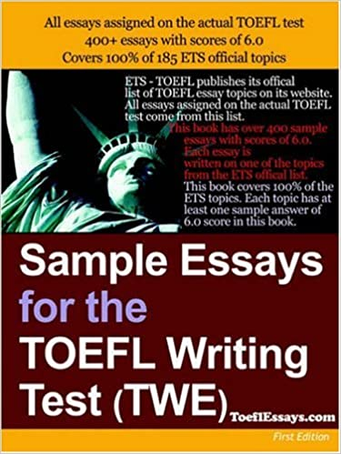 sample essays for the toefl writing test twe anonymous  sample essays for the toefl writing test twe