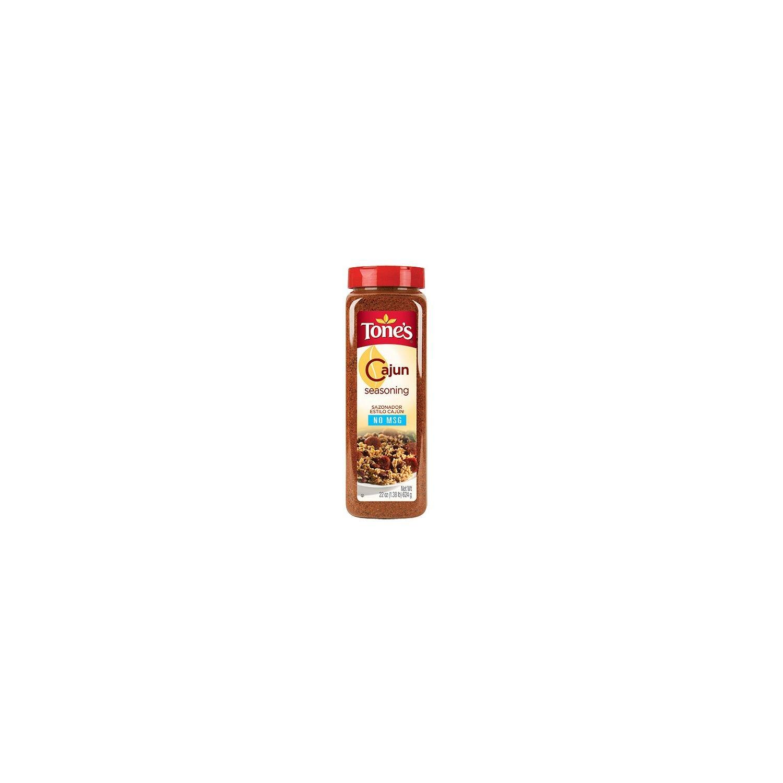 Tone's® Cajun Seasoning - 22 oz. shaker (Pack of 6)