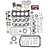 Evergreen Engine Rering Kit FSBRR4010EVE\0\0\0 Acura Honda 2.3 SOHC F23A1 F23A4 F23A5 F23A7 Full Gasket Set, Standard Size Main Rod Bearings, Standard Size Piston Rings