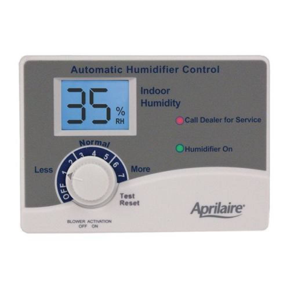 Aprilaire #62 Humidistat With Blower Activation
