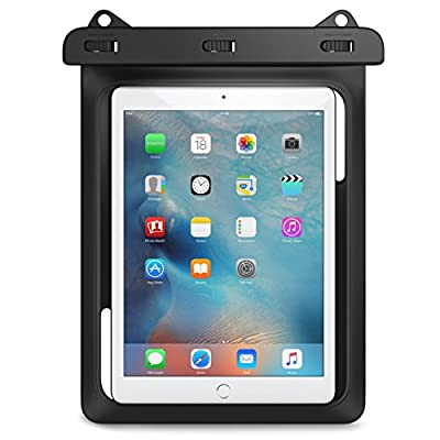 MoKo Universal Waterproof Case, Dry Bag Pouch for New iPad 9.7 2018/2017, iPad Pro 9.7, iPad Air 2, iPad 4/3/2, Samasung Tab S3/Tab S2/Tab A 9.7, Galaxy Note 8, Tab E 9.6 and More Up to 10 Inch by MoKo