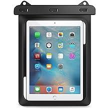 MoKo Universal Waterproof Case, Dry Bag Pouch for New iPad 9.7 2018/2017, iPad Pro 9.7, iPad Air 2, iPad 4/3/2, Samasung Tab S3/Tab S2/Tab A 9.7, Galaxy Note 8, Tab E 9.6 and More Up to 10 Inch