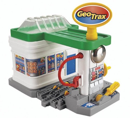 Fisher-Price GeoTrax Rail & Road System - Gas 'n Go for sale  Delivered anywhere in USA
