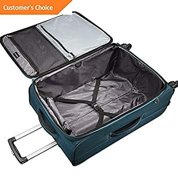 Amazon.com | Sandover Samsonite Advena 29 Expandable Checked Spinner gage Softside Checked NEW | Model LGGG - 4021 | | Luggage