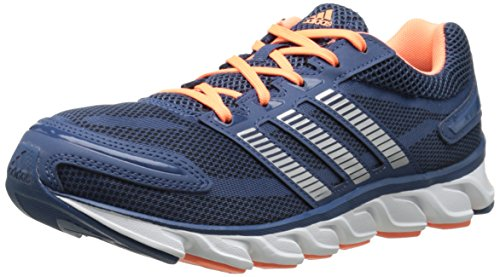 adidas Womens Powerblaze W Running Shoe Vista BlueCollegiate NavyFlash Orange 8.5 M US