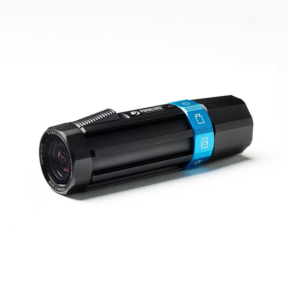 Paralenz Dive Camera+ - waterproof, underwater camera, military grade aluminum housing and depth & temperature video overlay.