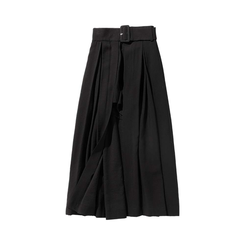 Dabuwawa - Falda Larga para Mujer - Negro - Medium: Amazon.es ...