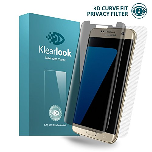 big sale 603d1 ed4a8 Galaxy S7 Edge Screen Protector, Klearlook® 3D PRIVACY: Amazon.co.uk ...