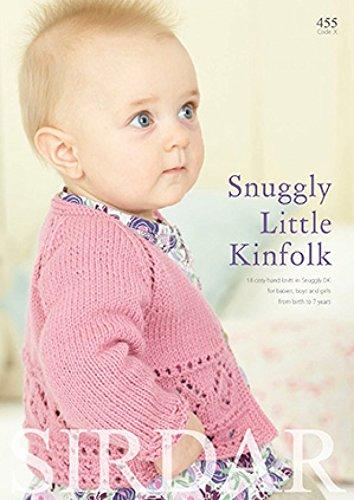 Sirdar Knitting Pattern Book 455 Snuggly Little Kinfolk Amazon Co