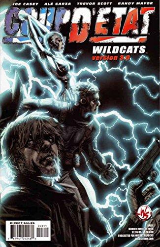 Coup D'Etat: Wildcats Version 3.0#1A VF ; WildStorm comic book