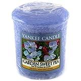 Yankee candle 1152880E Bougie votive Pois de senteur du jardin 49 g Blanc