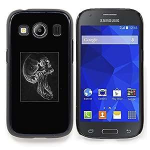 SKCASE Center / Funda Carcasa protectora - Cráneo gótico Scream;;;;;;;; - Samsung Galaxy Ace Style LTE/ G357