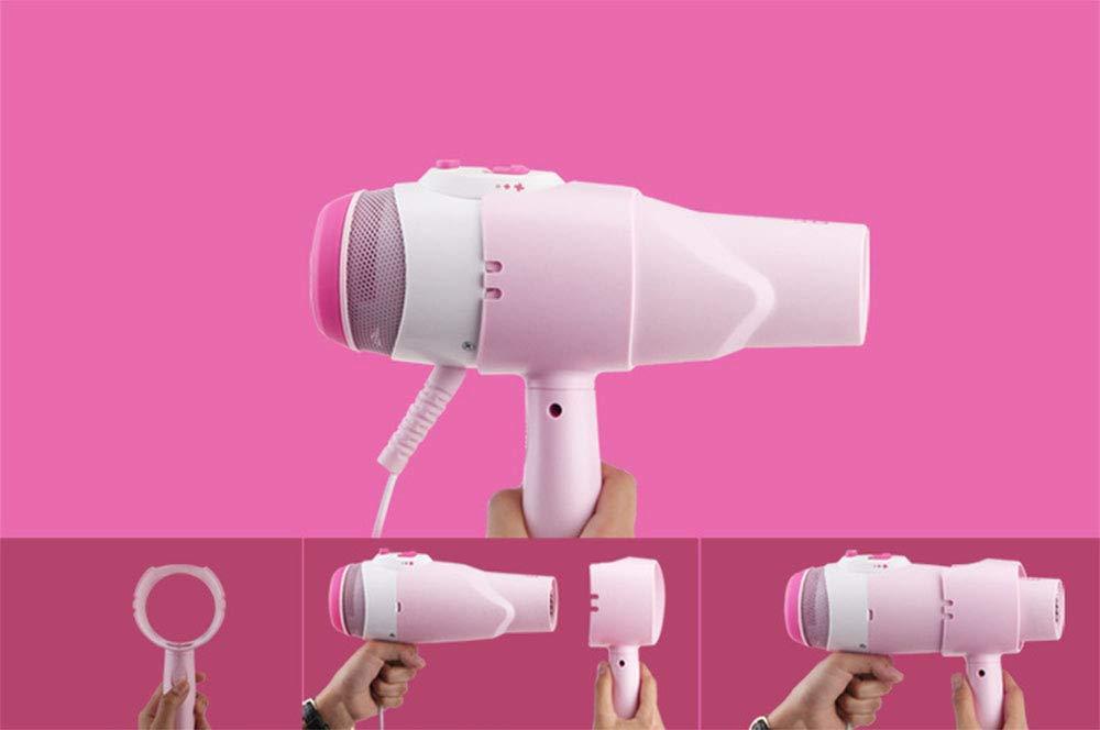 Secador de pelo Secador de pelo vertical, secador de manos libres para uso doméstico, soplador de aire frío / caliente de alta potencia de 2000 vatios, ...