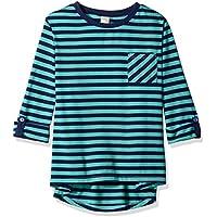 Scout + Ro Girls' Patch-Pocket Stripe Tunic