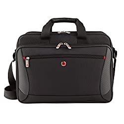 "Wenger Luggage Mainframe 15.6"" Brief Laptop Bag, Black, One Size"