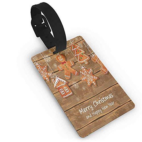 Gingerbread Man Printable - Holder Baggage Gingerbread Man,Funny Watercolor Cookies