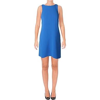 Lauren Ralph Lauren Womens Knee Length Drop Waist Semi Formal Dress