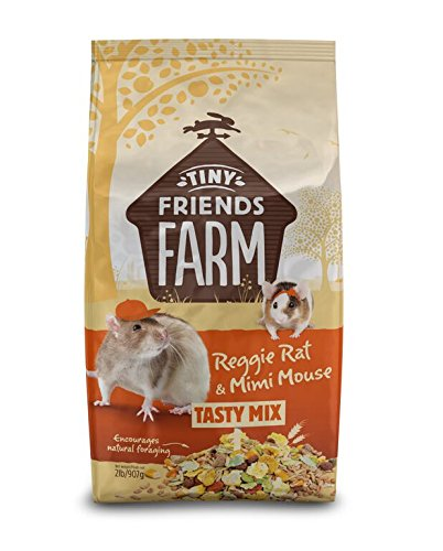 Supreme Petfoods Tiny Friends Farm Reggie Rat & Mimi Mouse Food, 2 lb