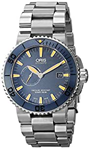 Oris Men's 64376547185MB Analog Display Swiss Automatic Silver Watch